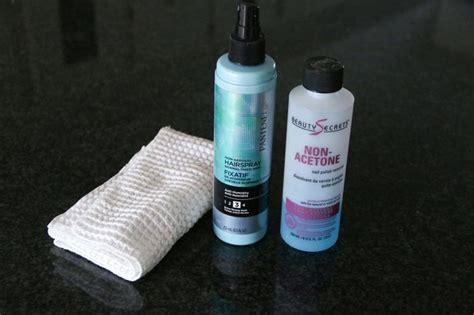 ballpoint pen hairspray nonacetone nail