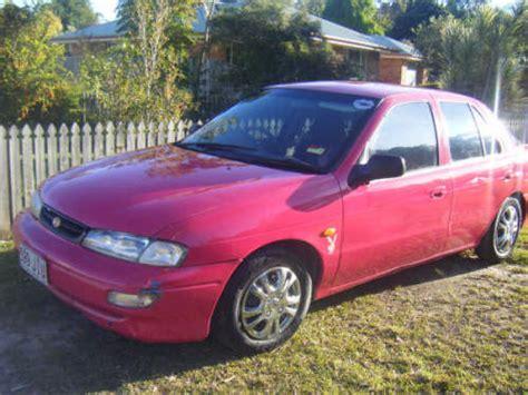 Mentor Kia Used Cars 1997 Used Kia Mentor Hatchback Car Sales Mackay Qld Fair