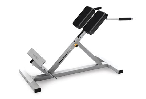 back extension on bench matrix back extension bench g1 fw162 johnson fitness