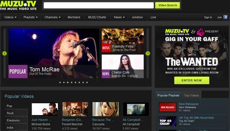 free online music audio video website muzu tv online