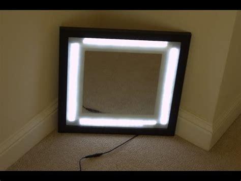 Vanity Mirror With Lights Diy by Diy Makeup Mirror With Lights Makeup Vidalondon