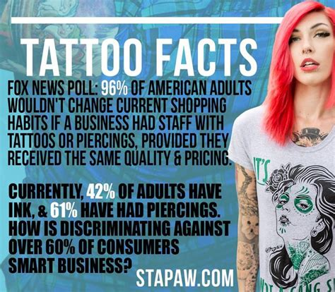 facts about tattoos 1000 images about acceptance in the workplace on