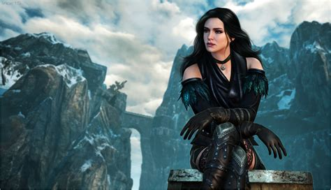 witcher 3 yennefer and triss armors at skyrim nexus mods the witcher 3 yennefer by linceeslanieva on deviantart