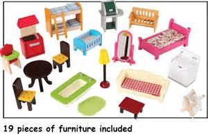Kidkraft Dollhouse Furniture Set by Kidkraft Cherry Hill Dollhouse With Bonus Set Of Furniture