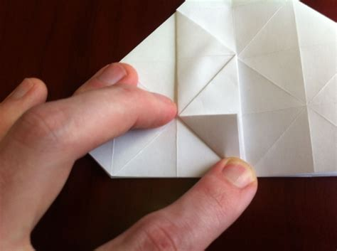 How To Fold A Of Paper Into A Card - how to fold a textured origami 171 origami wonderhowto