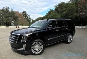 Cadillac Escalade Platinum Review 2016 Cadillac Escalade Platinum Gallery Slashgear