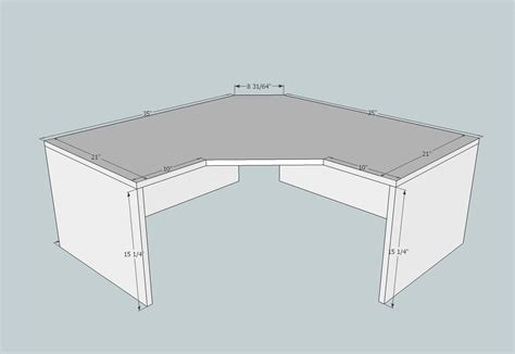 diy corner computer desk plans corner desk plans corner desk plans woodworking free also corner desk plans free related to