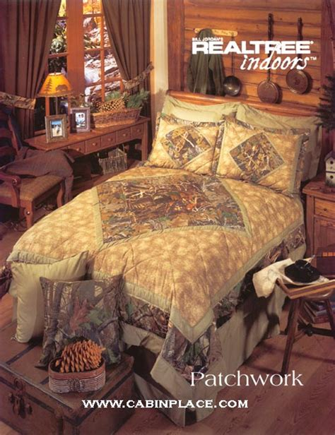 Camo Patchwork Quilt Set - realtree advantage bedroom picture