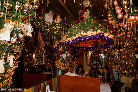 rolf s bar restaurant holiday decor restaurants peek inside rolf s german restaurant new york city s most