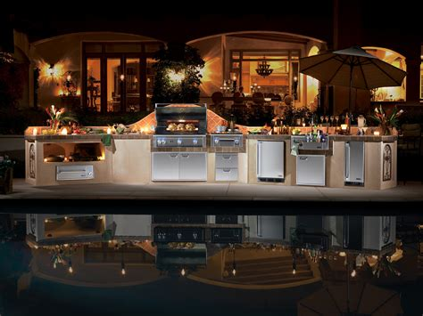 Designer Kitchen Appliances by Lynx Luxury Outdoor Kitchen Products Phoenix Landscaping