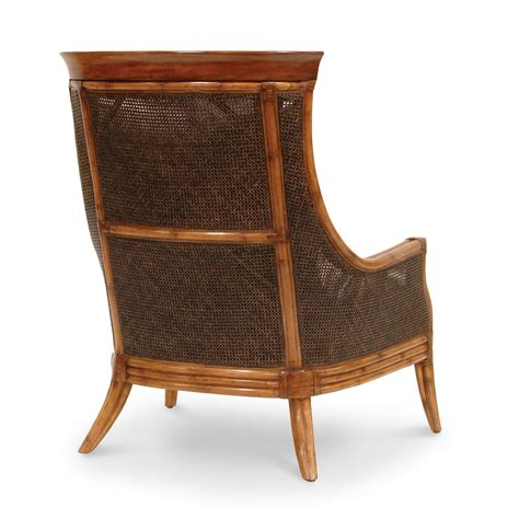 wicker benches furniture palecek dunhill grand lounge chair 7377 rattan wicker