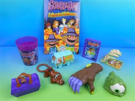 K D Kruwil Set Anni 2014 scooby doo a haunted set of 8 mcdonald s