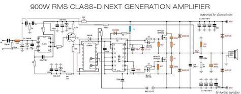 Power Lifier Class D D2k Neo 900w class d next generation power lifier circuit diagram and audio lifier