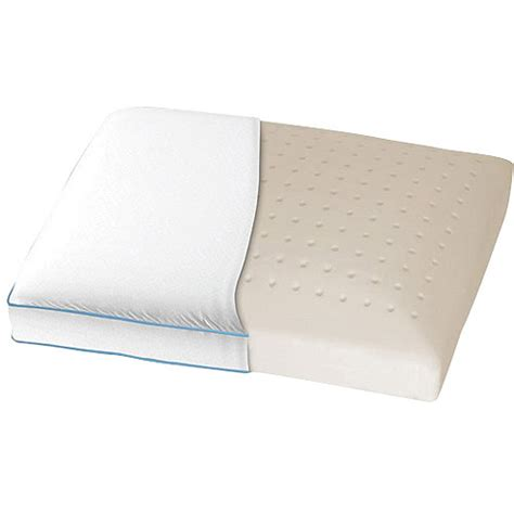 serenity side sleeper memory foam pillow walmart