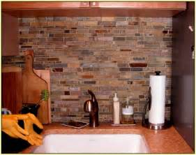 Bathtub Washer Slate Mosaic Backsplash Tile Home Design Ideas