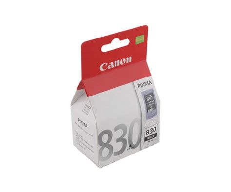 Canon 830 Ink Cartridge canon pg 830 2102b001aa black cartridge 11m