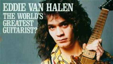 eddie van halen voted greatest guitarist of all time eddie van halen voted greatest guitarist of all time in