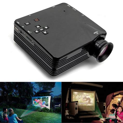 Mini Projector H80 h80 mini led projector for home tv vga hdmi support 1080p
