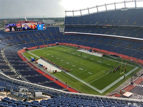 sports authority field sections sports authority field section 527 rateyourseats com