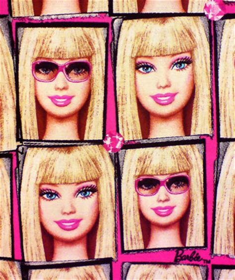 new licensed barbie® fabric by v.i.p.® by cranston doll