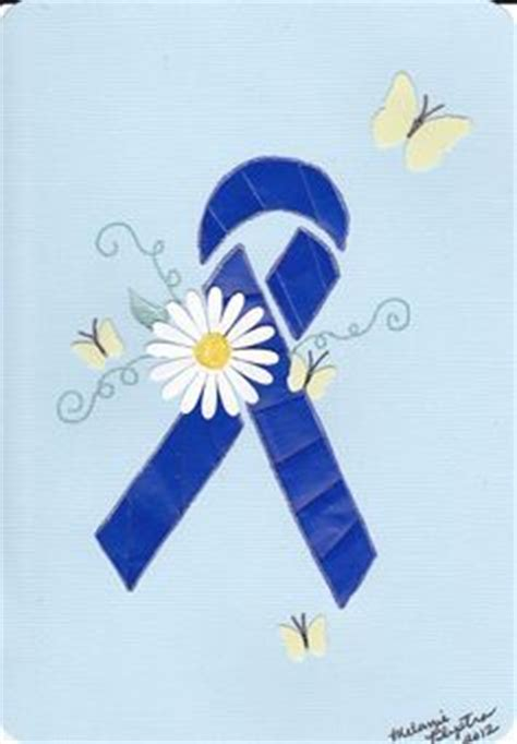 color for colon cancer here is the blue colon cancer ribbon colon cancer