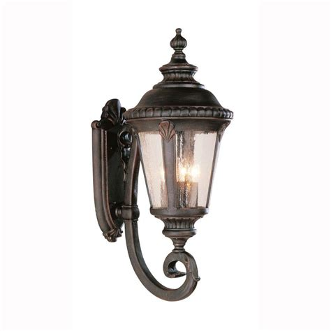 Coach Lights Outdoor Bel Air Lighting Way 4 Light Outdoor Rust Coach Lantern With Seeded Glass 5042 Rt The