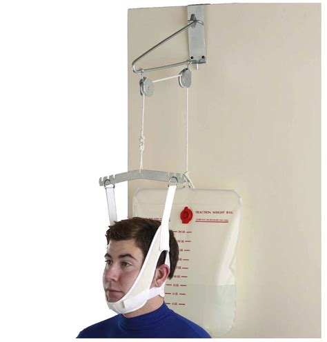 The Door Traction Unit by Cervical Traction Door Neck Back Spine Stretcher