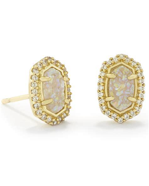 In Stud Earrings stud earrings in gold deal on chupi forget me knot