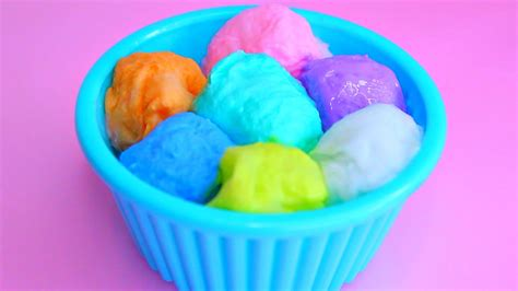 rainbow decorative balls diy rainbow decorative cotton balls 거품 물감 스노우 키즈 무지개 솜사탕