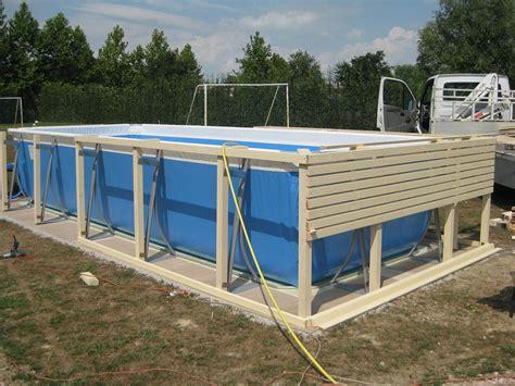 rivestimento in legno per piscine fuori terra piscina fuori terra con rivestimento in legno fai da te