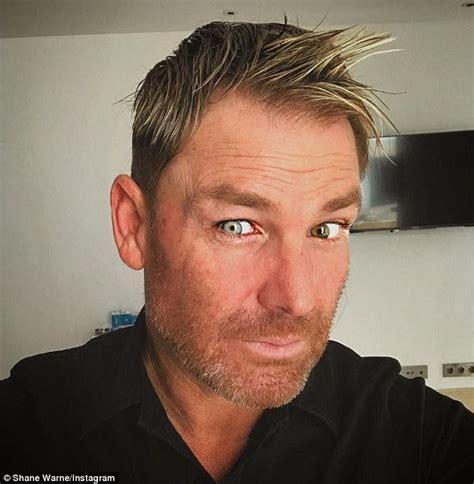 shane warne hair elizabeth hurley shocked by ex fianc 233 shane warne s beard
