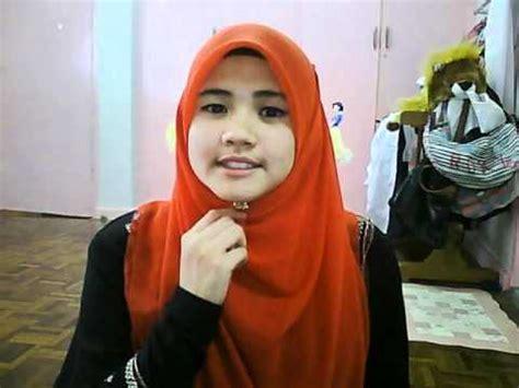 dak teropong studio tutorial shawl by tudung bawal ct hijab tutorial tudung bawal by syasya roslan vidoemo