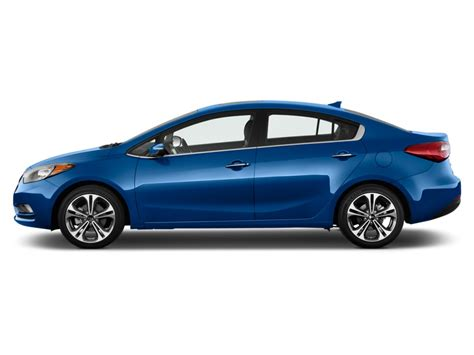 2014 Kia Forte 2 Door 2014 Kia Forte 4 Door Sedan Auto Lx Side Exterior View