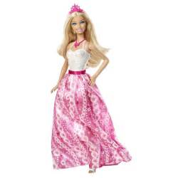 Barbie dolls fairytale fashion pink princess doll at toystop