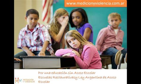 ley 24432 honorarios profesionales argentina violencia escolar ley para la promoci 211 n de la convivencia