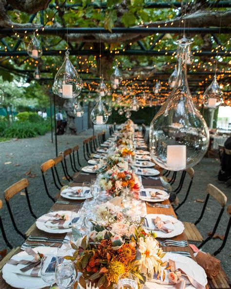 Martha Stewart Wedding Event by Outdoor Wedding Lighting Ideas From Real Celebrations