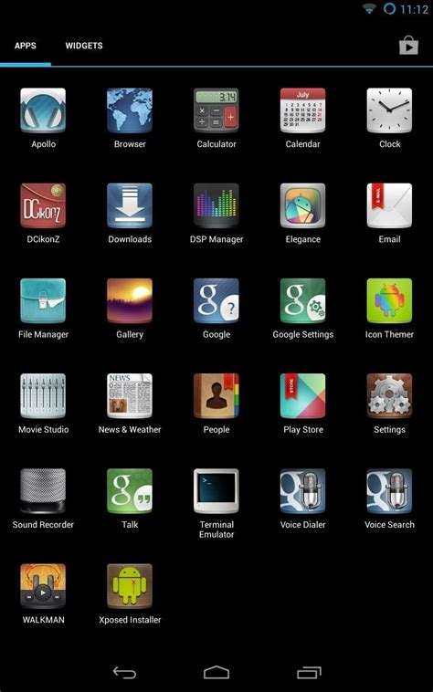 themes apps android how to customize the android app icons on your nexus 7