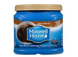 maxwell house house blend coffee reviews consumer reports