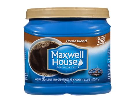 Maxwell House by Maxwell House House Blend Coffee Reviews Consumer Reports