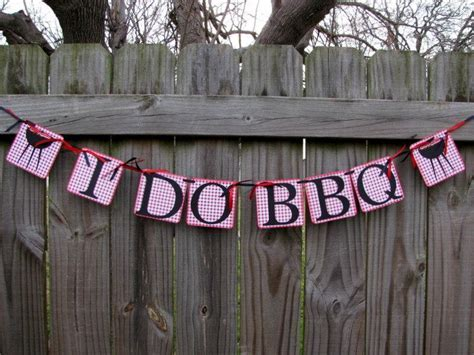 I Do BBQ Banner, I Do Bbq Ideas, Engagement Banner
