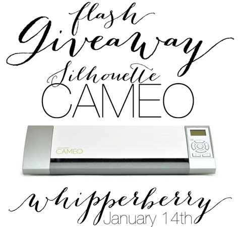 Silhouette Cameo Giveaway - silhouette archives whipperberry