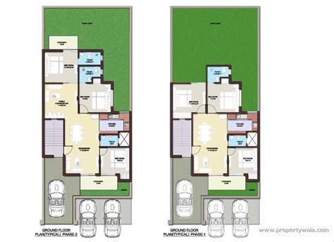 layout plan of 250 sq yard house bptp park elite floors sector 85 faridabad apartment