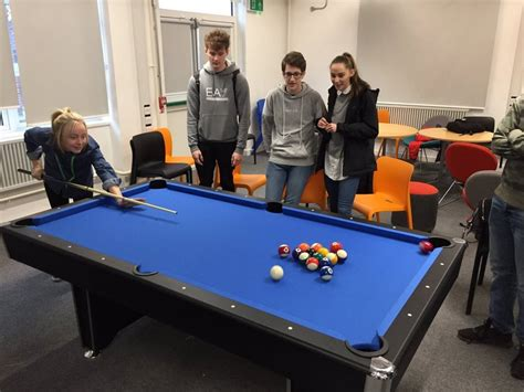 Academy Pool Table by Bristol Free School Friends Fobfs