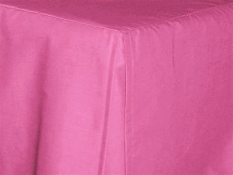 pink bed skirt hot pink fuchsia tailored bedskirt for cribs and daybeds and twin twin xl full