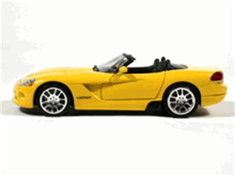 fast and furious yellow car 2003 dodge viper diecast model car quot 2 fast 2 furious quot 1 18
