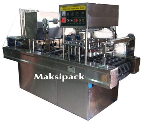 Mesin Sealer Cup Jual Mesin Cup Sealer Otomatis 2 Line Dan 4 Line Di Yogyakarta Toko Mesin Maksindo Yogyakarta