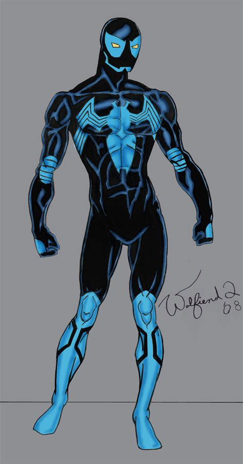 blue spider original amalgam by walfiend2 on deviantart