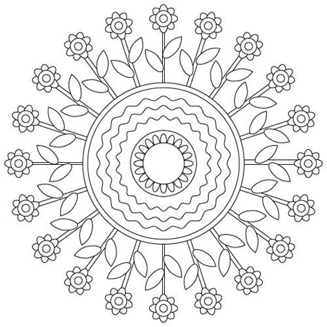 hippie mandala coloring pages american hippie art adult coloring page flower