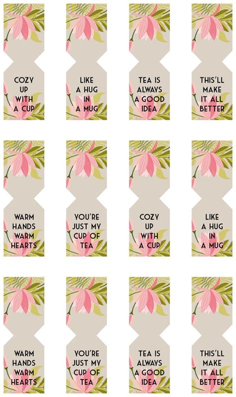 printable name tags for gift bags floral free printable tea bag tags free printable teas