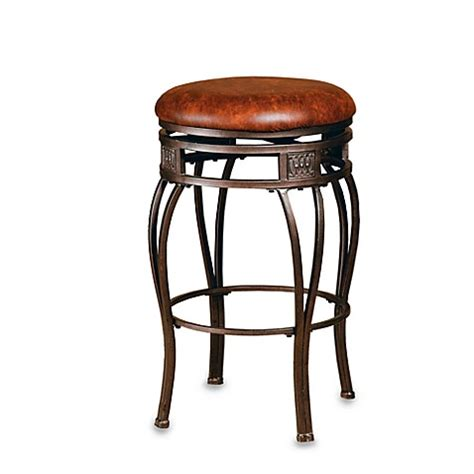24 inch backless bar stools buy hillsdale montello backless 24 inch barstool from bed bath beyond